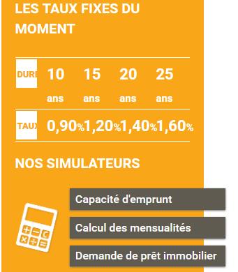 Et si vous commenciez par le simulateur de capacité d'emprunt de Prelys Courtage ?